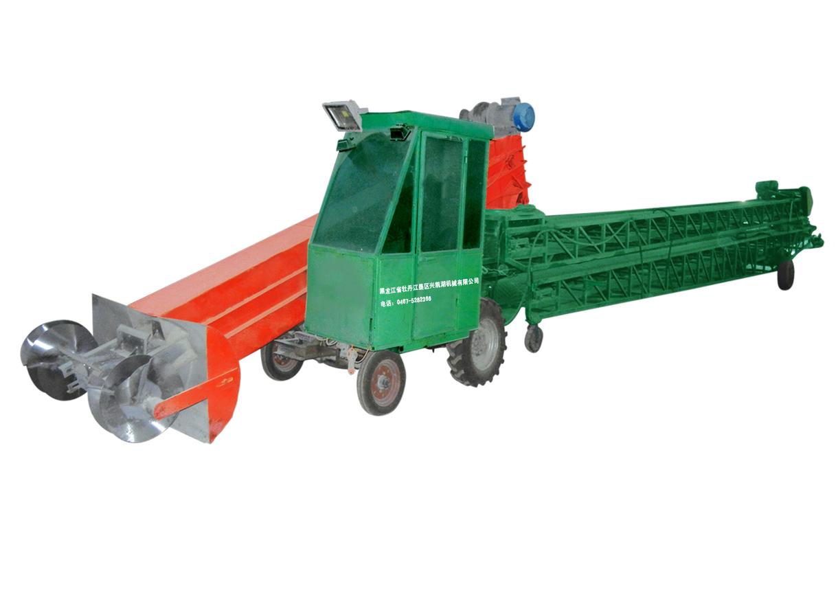 5SZBS自走式扒谷伸缩多角度输送机