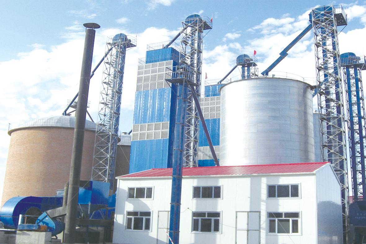 1000T水稻烘干机成套设备