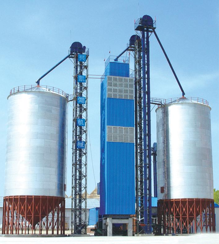 300T玉米烘干机成套设备